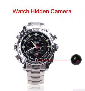 China Wholesales High Quality Smart Wrist IR Night Vision HD 1080P Audio Video Recorder Spy Hidden Camera Watch Made In China on sale