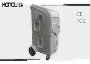 China Full - Auto Car Refrigerant Recovery Machine Vacuum Recharge Equipment 220V 50 / 60Hz  on sale