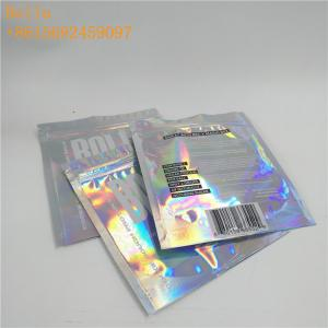 China Custom Printing Foil Pouch Packaging One Side Clear Zipper Glossy For USB Cable on sale