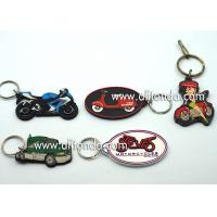 Car motorcycle exhibition promotional gifts promotional key chains soft pvc key rings custom car series keychain supply