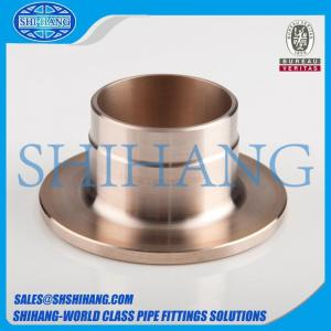 China copper nickel cuni 90/10 c70600 inner flange composite weld neck flange on sale