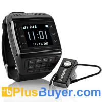 Panther - Dual SIM Watch Mobile Phone (Touchscreen, Keypad, Quadband)
