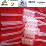 Mecanismo de botes giratorios de FEP, tubo de la bobina de FEP, tubo de la forma de la serpiente de FEP, tubo de FEP en bobina