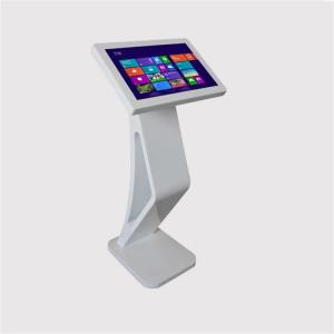 China Portable Podium Interactive Touch Screen Kiosk 21.5 Inch Totem LCD Display Digital Signage on sale