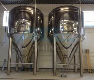 China 500 gallon stainless steel Wine/Beer fermentation tank fermenter Stainless Steel wine fermentation tank on sale
