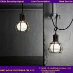 Dining room modern iron wire pendant lamp Caren lighting