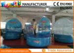 0.6mm PVC tarpaulin Inflatable Giant Snow Globe Ball for Christmas