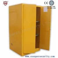 Zinc Lever Lock Pool Chemical Storage Cabinets With 2 Shelves Fully-welded  Durable and chemical Resistant