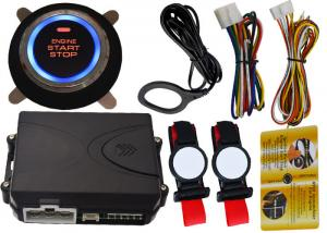 China Invisible Car Engine Start Stop System With Ignition Button , RFID Anti Theft Protection on sale