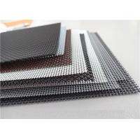 High Intensity Stainless Steel Insect Screen , Black King Kong Window Screen Mesh