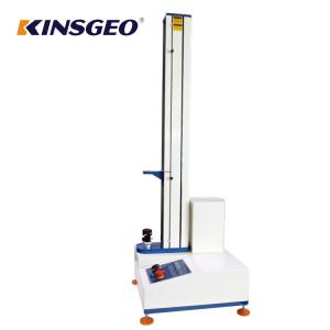 China PC Control Tensile And Elongation Test Machine with Single Pole for Testing Nylon ,Leather materials on sale