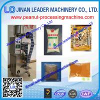 Peanut packaging machine control system Auto sewing Semi automatic