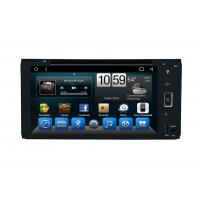 China Octa Core Indash Navigator Double Din Car DVD Player 6.95 Inch For Universal on sale