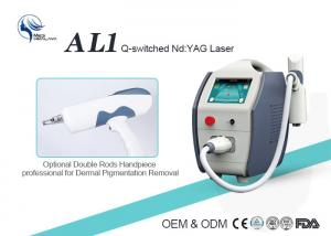 China Professional 1064nm 532nm 1320nm Q Switched Nd Yag Laser Tattoo Removal Machine on sale