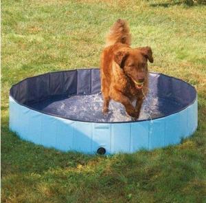 China Customized Pvc Portable Dog Bath Tub For Home Eco-Friendly on sale