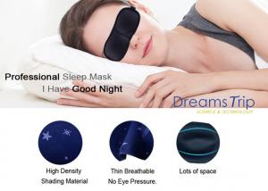 China Memory Foam Soft Material 3D Night Eye Mask For Sleeping With Ear Plugs on sale