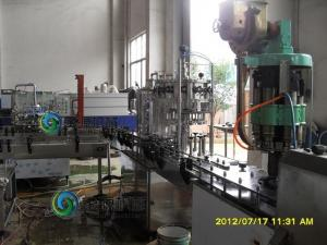China Auto 500ml Liquid Barrel Filling Equipment , High Viscosity Filling Machine on sale