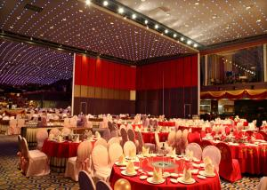 China Stackable Acoustic Partitions ,  Folding Internal Doors , Restaurant Movable Partitions on sale