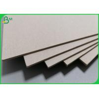 China 1mm Thick Recycled Material Type Greyboard For Making Binding Book Covers on sale