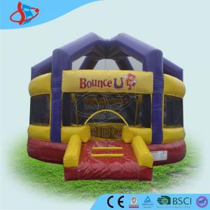 China Durable Bounce House Obstacle Course Longevity Halloween Pumpkin on sale