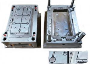China High Polish Custom Plastic Injection Molding , Industrial Valve Gate Injection Molding on sale