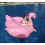 Custom Lovely Animal Shape Inflatable Swim Ring For Children / adult , PVC Pool Float