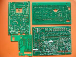 China Immersion Gold 0.5 - 6oz CEM - 1 Single Sided PCB board with non - halogen material on sale