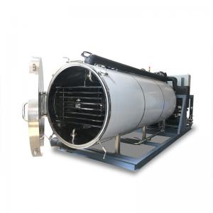 China ISO 10Pa Sus316 Vacuum Freeze Drying Machine on sale