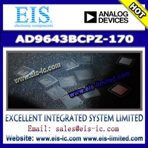 China AD9643BCPZ-170 - AD (Analog Devices) - 14-Bit, 170 MSPS/210 MSPS/250 MSPS, 1.8 V Dual Anal on sale