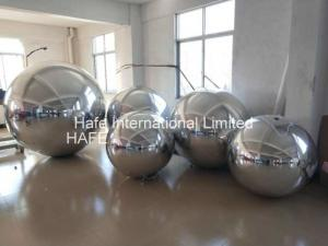China 8.2 FT Full Silver Color Mirror Ball Light With 1m -3m Size For Fashion Show on sale