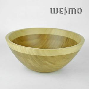 China Personalized Eco Friendly Bamboo Salad Bowl for Bamboo Kitchen Accessories on sale