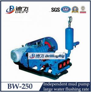 China large flow rate portable mud sucker pump BW-160,BW-200,BW-250,BW-320 mud pump on sale