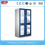 Aluminum Wood Biology Lab Furniture Large Storage Space CE approved