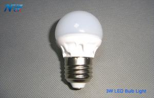 China Energy Efficient 3W Household Globe LED Light Bulbs CE / RoHS For Table Lamp on sale