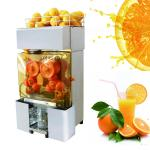 Stainless Steel Automatic Orange Juicer Lemon Fruit Squeezer For Supermarket