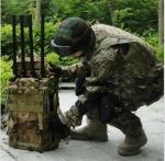 4G Backpack Signal Jammer High Frequency 30-200m Range For Prisons / Military