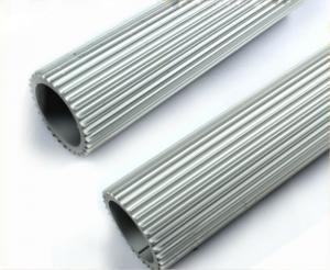 China 6063 Aluminum Heatsink Extrusion Profiles Shape Customized For LED Lighting on sale