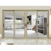 China Internal Single Glass Sliding Patio Doors / Residential Sliding Glass Doors on sale