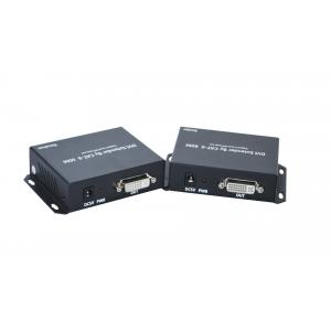 China 60M DVI Extender 3G Repeater Over Single Cat 5E / 6 Local HDMI Loop Out on sale