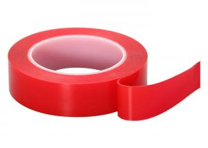 Quality Good Flexibility Clear Double Sided Acrylic Foam Tape For Cars 24mm X 2m for sale