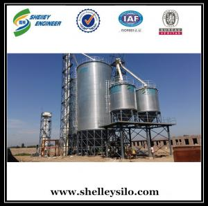 China hot sale China 500t assembly corrugated maize storage cone silo price on sale