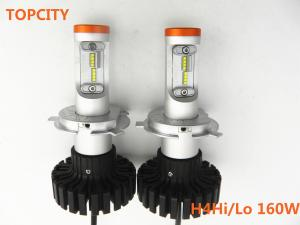 China Well-received led headlight 6000LM h4 auto headlight on sale