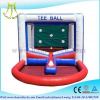 Hansel Popular inflatable Tee ball games for kids inflatable kids ball games