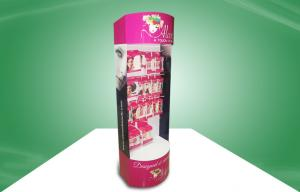 China Eye - Catching Cosmetic POS Cardboard Display With Hook For Showcase Heavy Products on sale