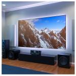 120 Inch Short Throw Projector Screen,High Contrast ambient light rejection projector screen
