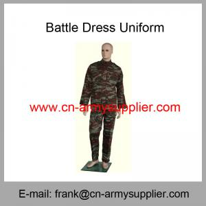 China Wholesale Cheap China Army French Camouflage Military BDU Battle Dress Uniform on sale