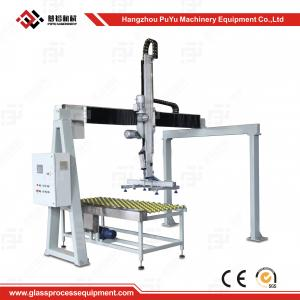 China Fully Automatic Flat Glass Handing Equipment Glass Loader With Safety System on sale