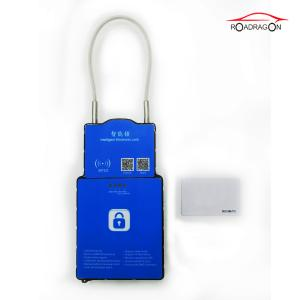 China NFC RFID  Secure Remote Control Padlock 3G Logistic Express Cargo Monitoring on sale
