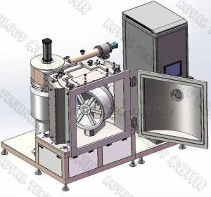 China Automotive Wheel Hard Chrome Plating Machine , Car Rims DC Magnetron Sputtering Machine on sale