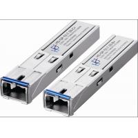 BiDi SFP Fiber Transceiver Single Mode 1.5 To 5dBm Tx Power , CE ROHS Standard